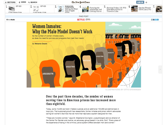 What Are Native Ads nyt