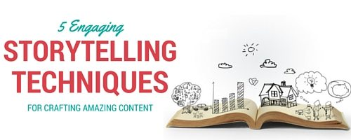 5 storytelling techniques title