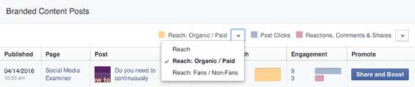 facebook advertising guidelines insights page