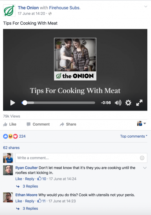 facebook advertising guidelines the onion