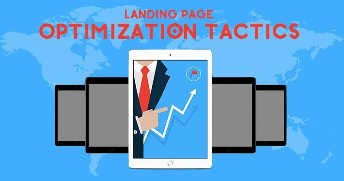 landing page optimization tactics feature image