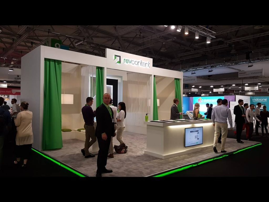 dmexco revcontent booth