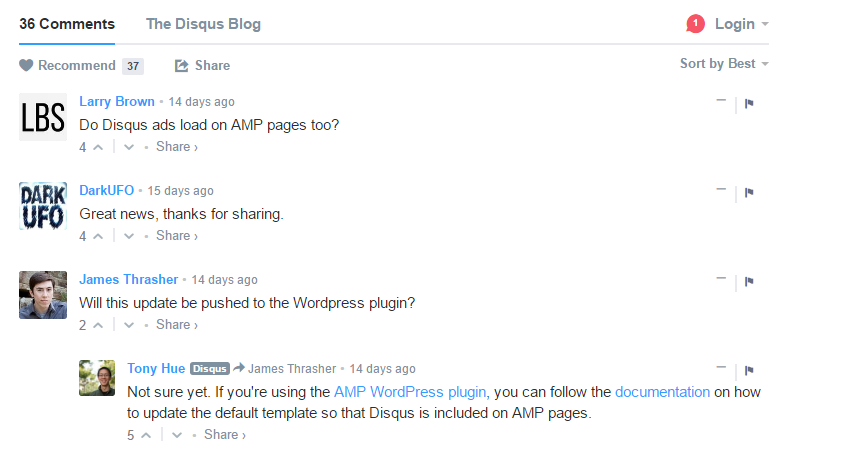 Disqus, cool wordpress plugins