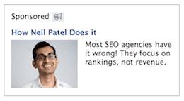 neil patel remarketing ad