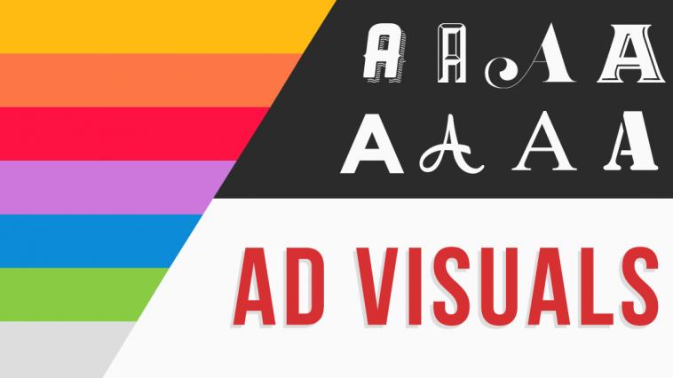 ad visuals, visuals in advertising, visual advertising