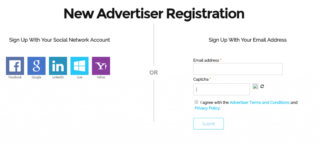 Advertiser-Registration, info, sign up, advertiser